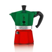 Cafetera Bialetti Moka Express Collection Italia - 3 Tazas