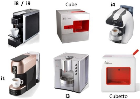 Capsulas illy i espresso system mitaca descafeinado - Cafetera illy ...