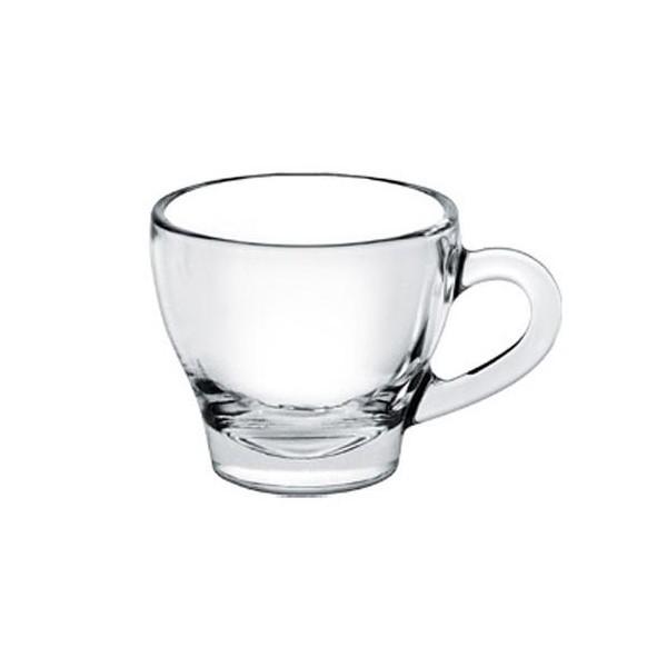 taza de caf cristal nschia con plato