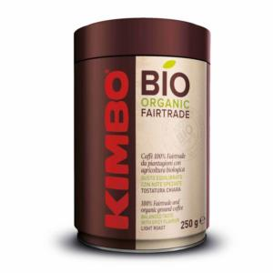 Cafe molido KIMBO Bio Fairtrade - Lata 250gr.