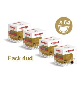 Pack Kimbo Dolce Gusto - 4ud. (64 cápsulas)