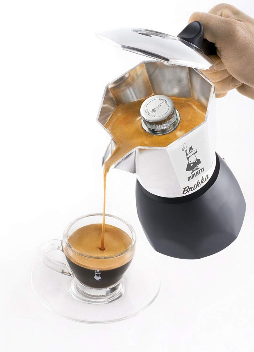 Bialetti Moka New Brikka Cafetera de Aluminio