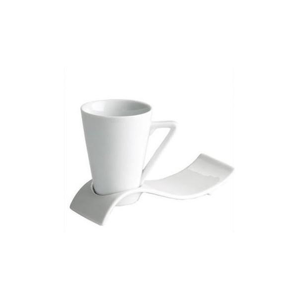 Taza de caf espresso c nica mod roma for Tazas para cafe espresso
